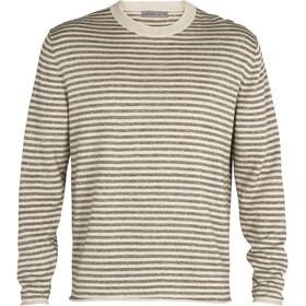 Icebreaker Flaxen LS Crew Sweater Men, twig